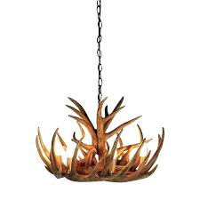white faux antler chandelier small chandeliers deer d real proinsar co