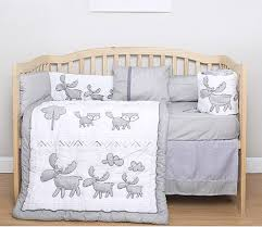 china oem cute design 5 pieces baby crib bedding set china baby bedding comforter cover