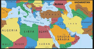 turkey middle east map.  Map Map Of The Middle East With Turkey