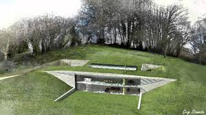 Houses Built Underground Earth Sheltered Houses Hillside Homes Earth House Pinterest