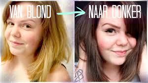 Van Blond Naar Donker Bruin Verven Groen Djenn