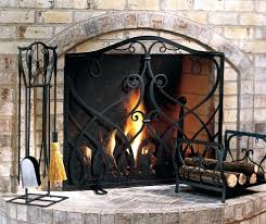 iron fireplace screen. Wrought Iron Fireplace Screens Awesome Lovely Amazing Living Rooms Western Rustic Within . Screen T