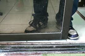 sliding glass door doesn t slide image titled clean and lubricate a sliding glass door step