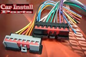ford oem stock radio wire harness plug  image is loading ford oem stock radio wire harness plug 1986