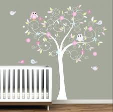 tree wall art decals vinyl sticker cartoon theme wall decor stickers for baby room nursery tree  on nursery vinyl wall art cape town with tree wall art decals vinyl sticker picture removable wall decor