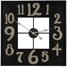 brazos 24 oversized wall clock
