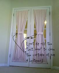 Curtain Rods For French Doors