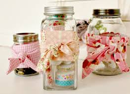 Decorating Mason Jars With Ribbon DIY Craft Room Storage Jars with Country Bumpkin Flare 72
