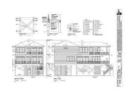 oceanside right side elevation floor plan