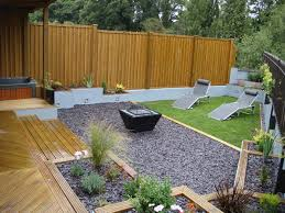 Mapajunction Small Garden Landscaping Ideas Cool Decking Designs For Small Gardens Design