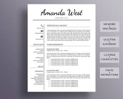 Resume Template Word Free Download Resume Templates Design For Job