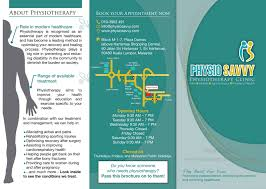 Physiotherapy Leaflet Design Pin By Flying Hamilton On Graphic Art Clinic How To