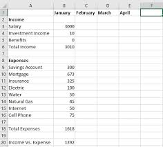 savings excel spreadsheet have 5 minutes create a free budget template in excel the finance