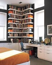 grey home office. Dark Grey Home Office Orange White Eclectic Small Interior Decoration Ideas G
