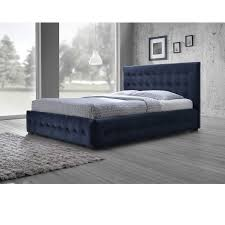 blue platform bed. Wonderful Blue Shop Baxton Studio Modern And Contemporary Navy Blue Velvet Fabric  Buttontufted Queen Platform Bed  Free Shipping Today Overstockcom 10181312 In