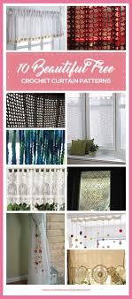 Free Crochet Curtain Patterns Custom Inspiration Design