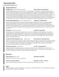 alexandria bird resume resume
