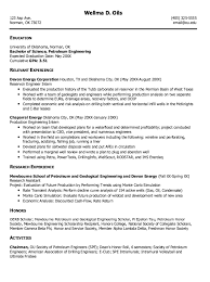 Drilling Engineer Sample Resume Gorgeous Pin By Latifah On Example Resume CV Pinterest Resume Sample