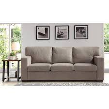 Better Homes and Gardens Oxford Square Sofa, Taupe