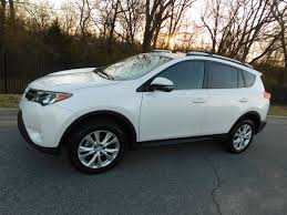 2014 Used Toyota RAV4 LIMITED at Toyota of Fayetteville Serving ...