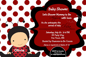 Ladybug Baby Shower Invitation Girl Invitation LadybugFree Printable Ladybug Baby Shower Invitations