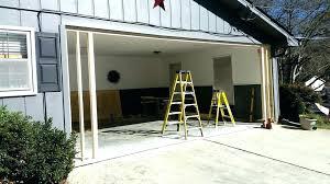 enclosing carport ideas garage door conversion ideas full size of carport conversion to living e enclosing carport ideas add