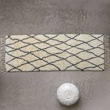 black and ivory berber rugs and runner