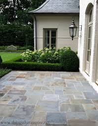 easy diy patio ideas hydrangeas flooring and slate outdoor stone tile for patio ideas