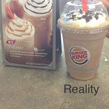 I used 1/4 of the creamer french vanilla flavor and 1/4 of the creamer caramel macchiato. This Is What Happens When You Order A Mocha Frappe At Burger King Kris10 Bk Mocha Frappe Frappe Coffee Flavor