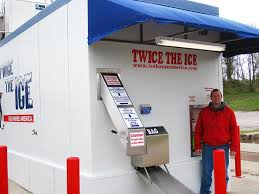 Ice Vending Machine Extraordinary New High Tech Handsoff Ice Manufacturing And Vending Machine Opens