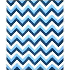 blue and white chevron rug navy best of light area rugs s zig zag chev
