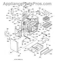 ge wb44k5012 oven bake element appliancepartspros com part diagram