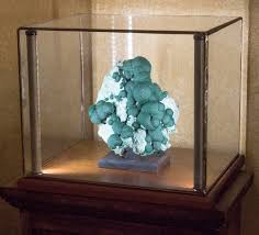 Lighted Display Stand For Glass Art Greenstone Lighted Display Cases for Minerals Art Curios 48