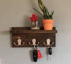 Coat Key Rack Key Holder Key Shelf Coat Rack Robe Hook wall decor wall 19