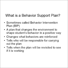 behavior support plan word pdf documents behavior support plan example