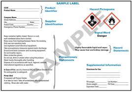 Hazcom Ghs Label Requirements Symbols And Classifications