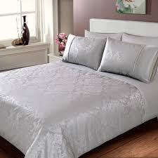 gallery of silver bedding sets california king size queen full grey duvet cover quoet simplistic 5