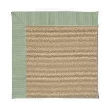capel rugs zoe sisal green spa indoor outdoor area rug common 10