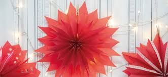 Weihnachtssterne Aus Roten Butterbrottüten Dmde