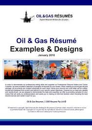 2018 Oil And Gas Resume Samples By 1300 Resume Issuu