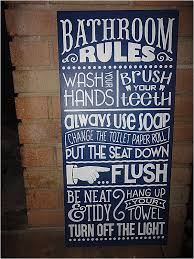 Custom Bathroom Signs Elegant Navy Bathroom Sign Home Decor Sign