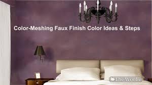nuevo acabado de pintura deslavado faux by the woolie how to color meshing ideas combinations rooms