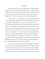 story of an hour essay the story of an hour as nelson mandela  2 pages chopin essay