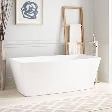 Avie Acrylic Freestanding Air Tub Bathroom