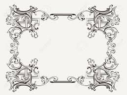 original renaissance ornate frame stock vector 18169182