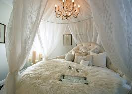 diy bed canopy with lights bedroom shabby chic style with relaxation room antique chandelier pattern