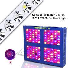 best led grow lights 2018 1 meizhi reflector series 600w