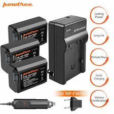 <b>Powtree</b> NP-FW50 Battery /LCD Dual Charger ForSony Alpha ...