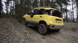 Fiat Panda 4x4 Cross (2015) - test napędu i ELD - YouTube