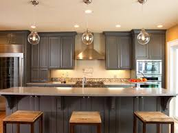 Kitchen Led Lighting Fixtures Painting Kitchen Cabinets Brown Brown Wooden Countertops